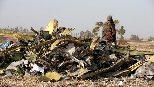 El lugar del siniestro del ET 302 de Ethiopian Airlines - Sputnik Mundo