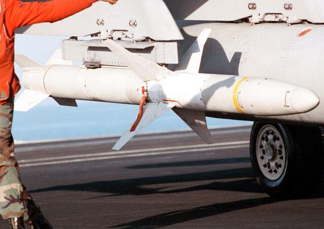 Misil AGM-88 HARM, foto archivo