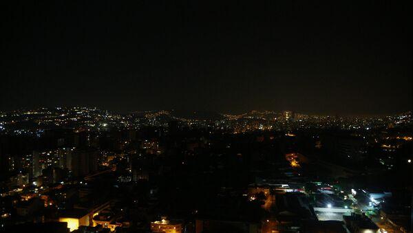 Apagón en Caracas, Venezuela - Sputnik Mundo