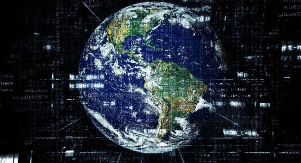 El mundo y la tecnología (ilustración)