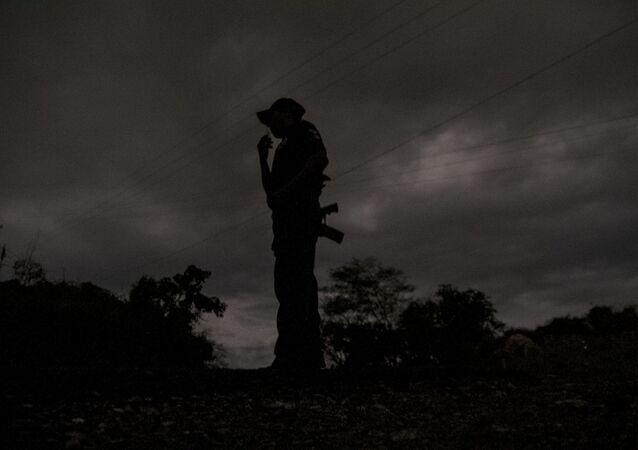 Un hombre armado (imagen referencial)