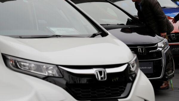Exhibición de distintos modelos de Honda - Sputnik Mundo