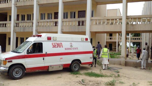 Ambulancia en Nigeria (archivo) - Sputnik Mundo