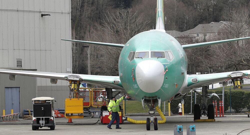Un Boeing 737 MAX (archivo)