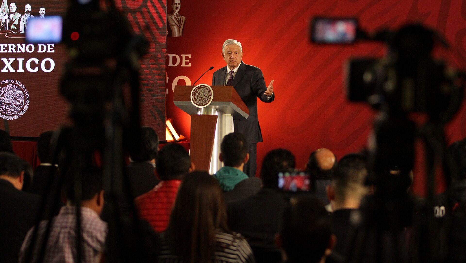Andrés Manuel López Obrador, presidente de México - Sputnik Mundo, 1920, 12.08.2020