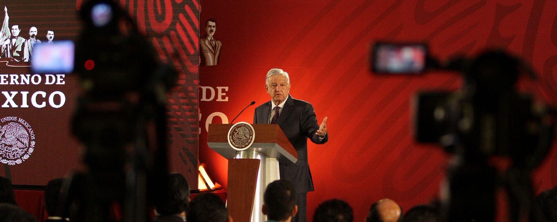 Andrés Manuel López Obrador, presidente de México - Sputnik Mundo, 1920, 18.06.2021