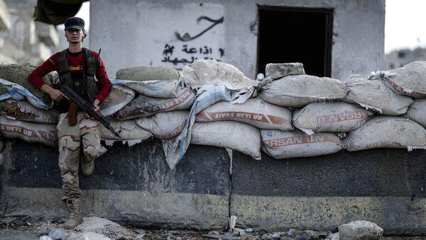 Insurgente sirio (archivo) - Sputnik Mundo