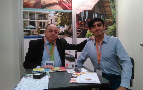 Julio César Prado Espinosa (izq.) y David Torres (dch.) - Sputnik Mundo