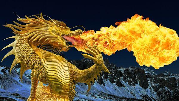Un dragón - Sputnik Mundo