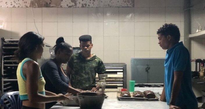 La juventud es el público objetivo de la Minka, la comunidad que ocupó una escuela abandonada en Caracas, muy cerca del Palacio de Miraflores
