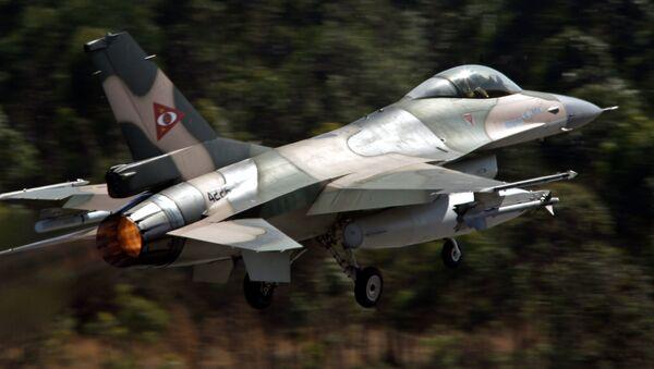 Un F-16 venezolano - Sputnik Mundo