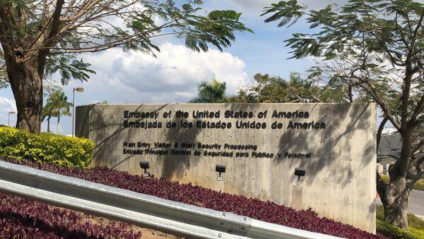 La Embajada de EEUU en Caracas, Venezuela - Sputnik Mundo