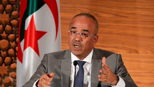 Ramtane Lamamra, vice primer ministro y canciller argelino - Sputnik Mundo