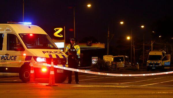 Policía de Nueva Zelanda en Christchurch - Sputnik Mundo