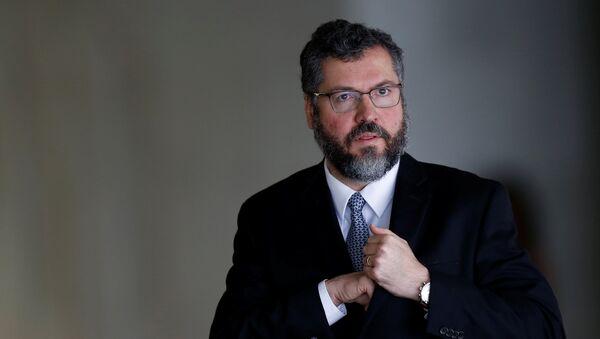 Ernesto Araújo, el ministro de Relaciones Exteriores de Brasil - Sputnik Mundo