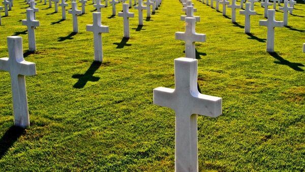 Un cementerio  - Sputnik Mundo