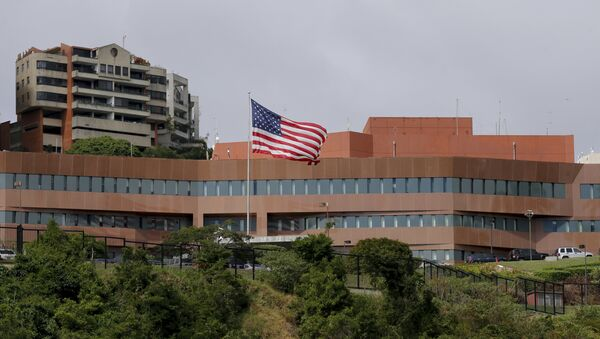 Embajada de EEUU en Caracas, Venezuela - Sputnik Mundo