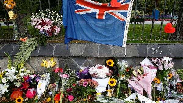 Homenaje a las víctimas del tiroteo en Chistchurch, Nueva Zelanda - Sputnik Mundo