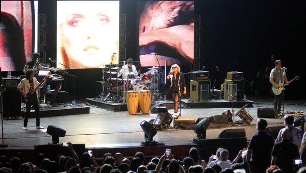 La banda de rock estadounidense Blondie - Sputnik Mundo
