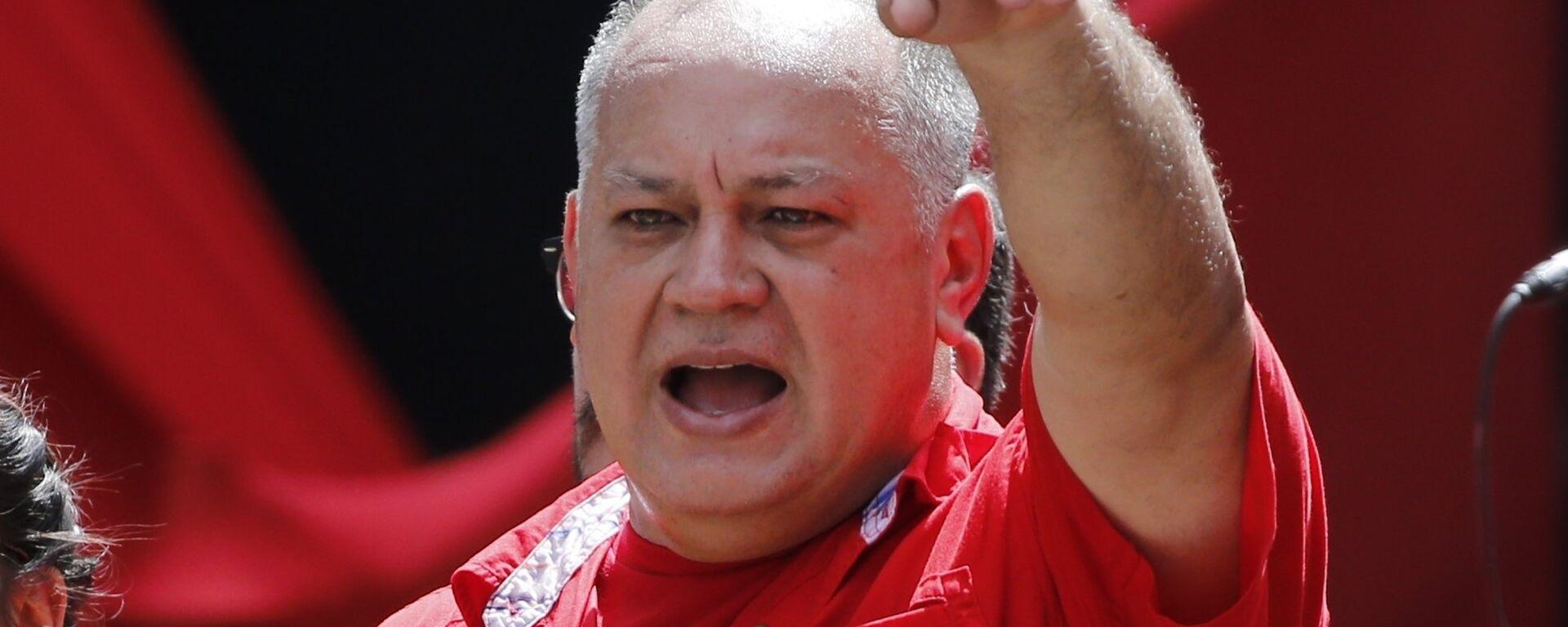 Diosdado Cabello, presidente de la Asamblea Nacional Constituyente de Venezuela - Sputnik Mundo, 1920, 05.03.2021