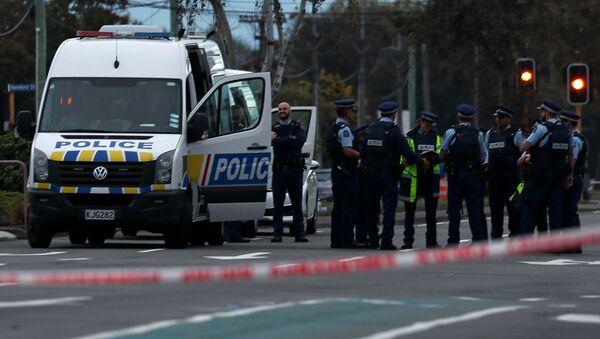 La Policía de Nueva Zelanda - Sputnik Mundo