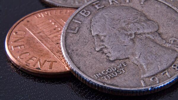 Monedas de centavos de EEUU - Sputnik Mundo