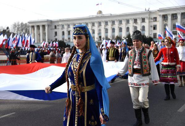 Crimea, a cinco años de la histórica reunificación con Rusia - Sputnik Mundo