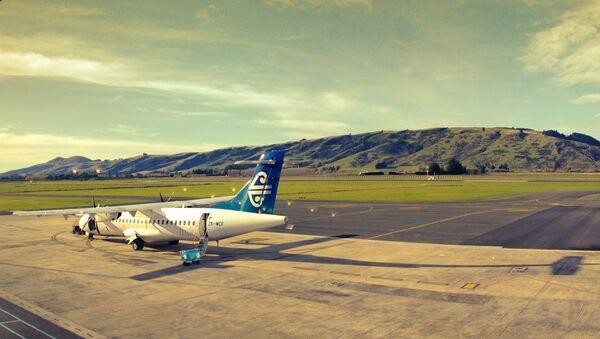 El aeropuerto de Dunedin, Nueva Zelanda - Sputnik Mundo
