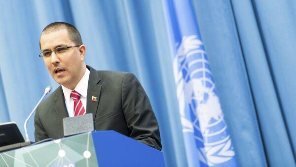 Jorge Arreaza, canciller de Venezuela - Sputnik Mundo