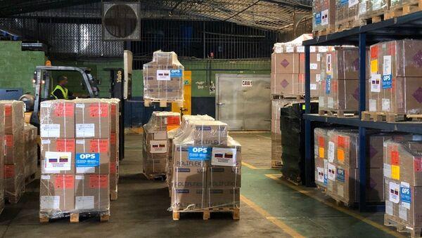 Ayuda humanitaria rusa para Venezuela (Archivo) - Sputnik Mundo