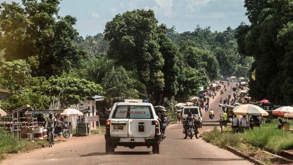 Ambulancia de la República Democrática de Congo (archivo) - Sputnik Mundo
