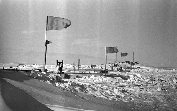 La estación Mirni, la primera estación sovietica en la Antártida - Sputnik Mundo