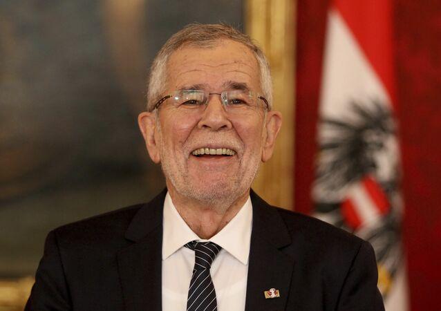 Alexander Van der Bellen, presidente de Austria