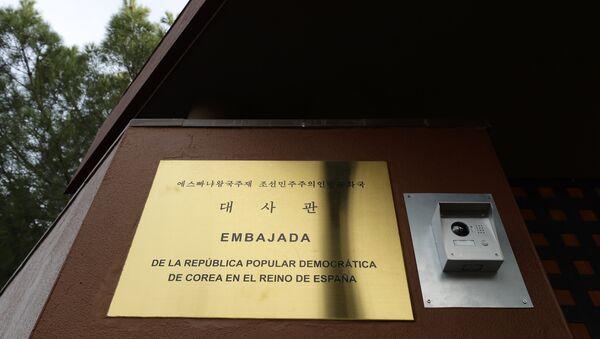 Embajada de Corea del Norte en Madrid - Sputnik Mundo