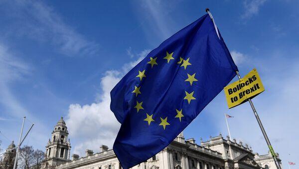 Protestas contra el Brexit en Londres - Sputnik Mundo