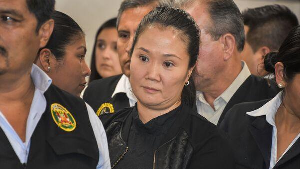 Keiko Fujimori, líder del partido Fuerza Popular - Sputnik Mundo