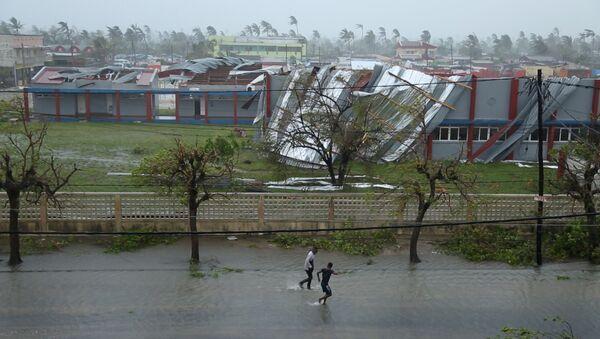 Zonas afectadas por el ciclón Idai en Mozambique - Sputnik Mundo