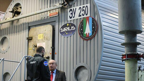 Módulo espacial para el experimento de la imitación del vuelo a la Luna Sirius-20 - Sputnik Mundo
