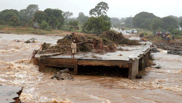 Ciclón Idai en Zimbabue - Sputnik Mundo