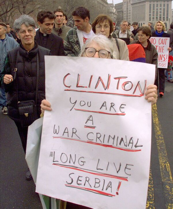 La operación de la OTAN contra Yugoslavia - Sputnik Mundo