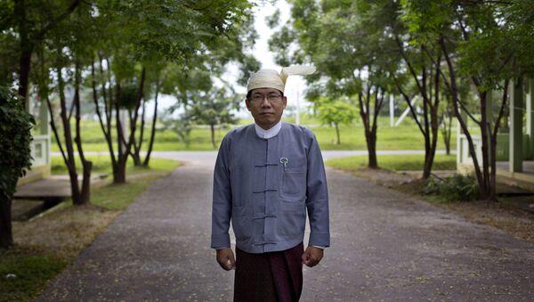 Aye Maung, uno de los líderes de los rohinyás - Sputnik Mundo