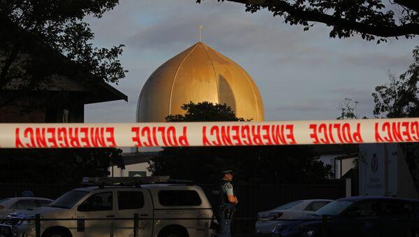 Una de las mezquitas en Christchurch, Nueva Zelanda - Sputnik Mundo