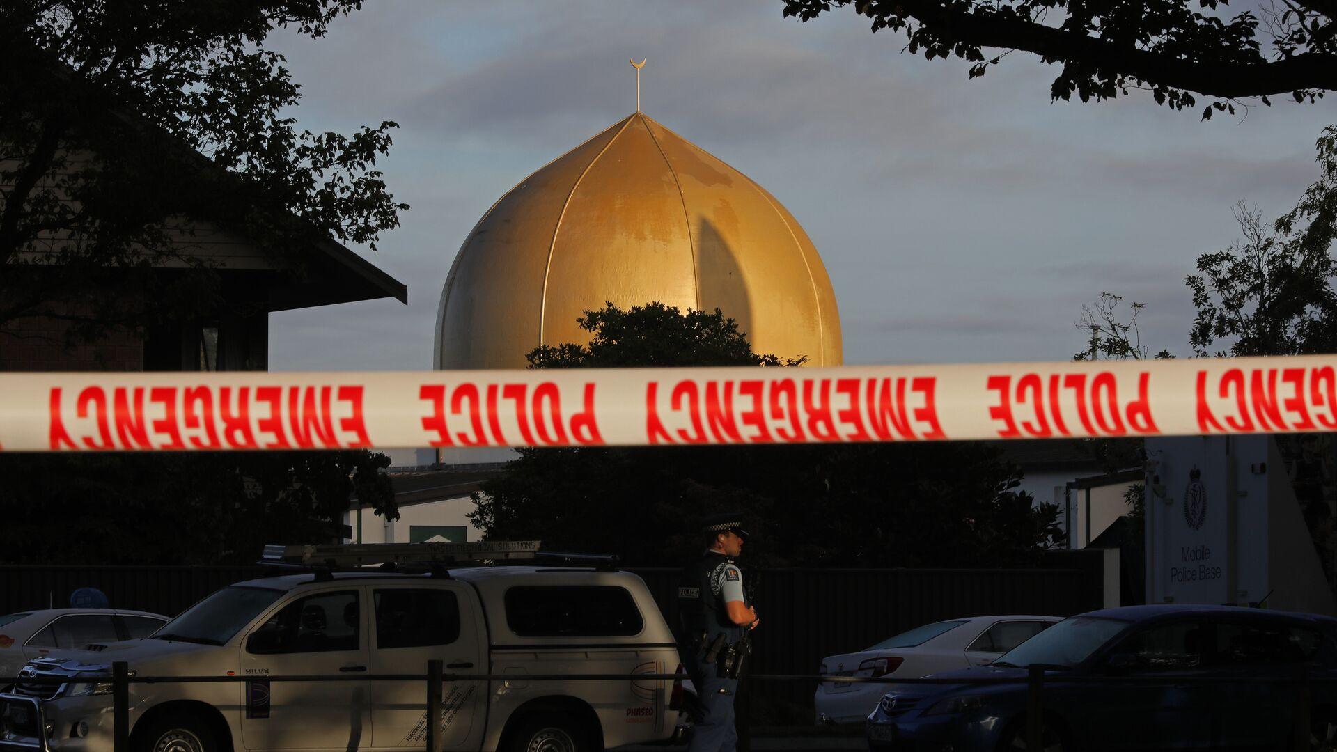 Una de las mezquitas en Christchurch, Nueva Zelanda - Sputnik Mundo, 1920, 04.03.2021
