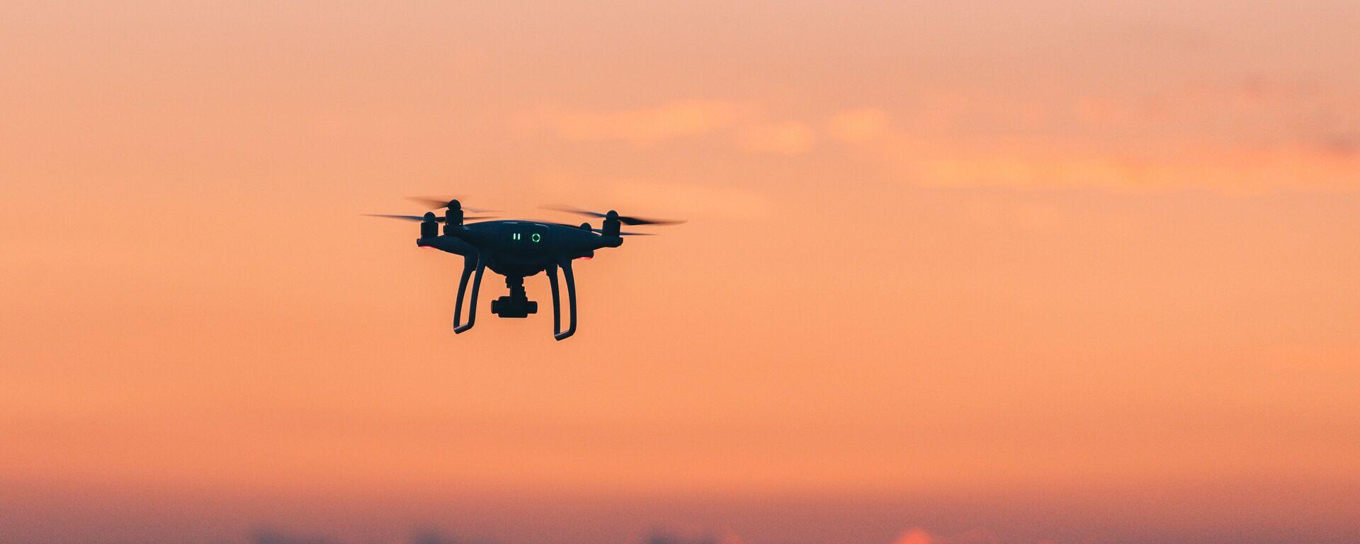 Un dron (imagen referencial) - Sputnik Mundo, 1920, 02.06.2021