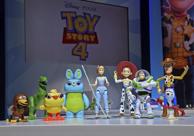 Muñecos de los personajes de Toy Story 4