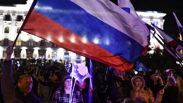 Celebraciones por el quinto aniversario de la reincorporación de Crimea a Rusia - Sputnik Mundo