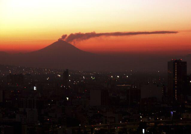 El volcan Popocatépetl (archivo)