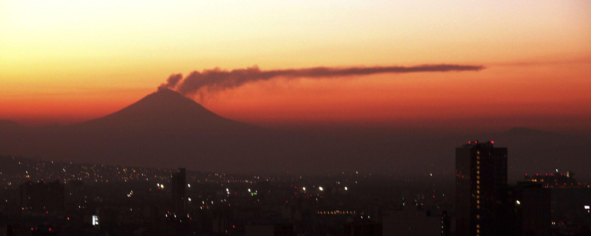 El volcan Popocatépetl (archivo) - Sputnik Mundo, 1920, 09.01.2020