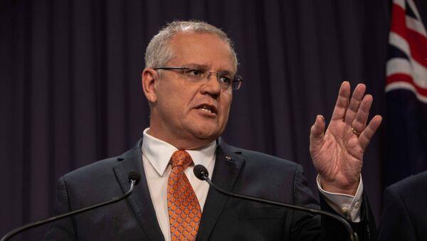 Scott Morrison, primer ministro de Australia - Sputnik Mundo