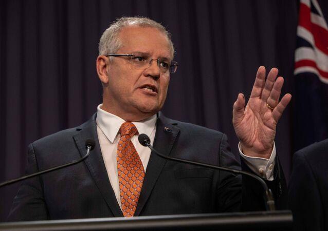 Scott Morrison, primer ministro de Australia